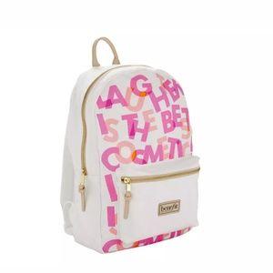 Benefit Branded Bookbag, Limited Edition